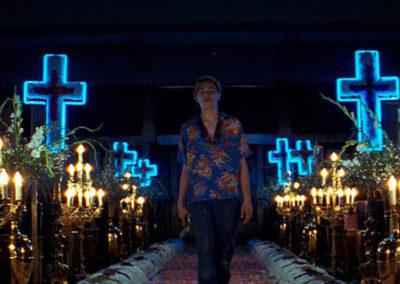 Scene di Romeo+Juliet di baz luhrmann
