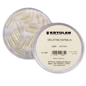 Capsule vuote in gelatina Kryolan